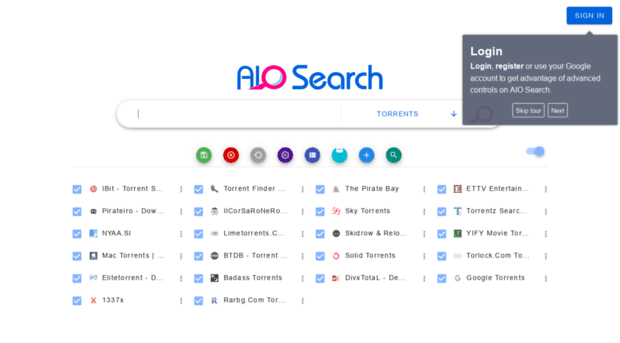 . AIO Search: