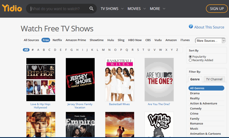 yidio-watch-free-tv