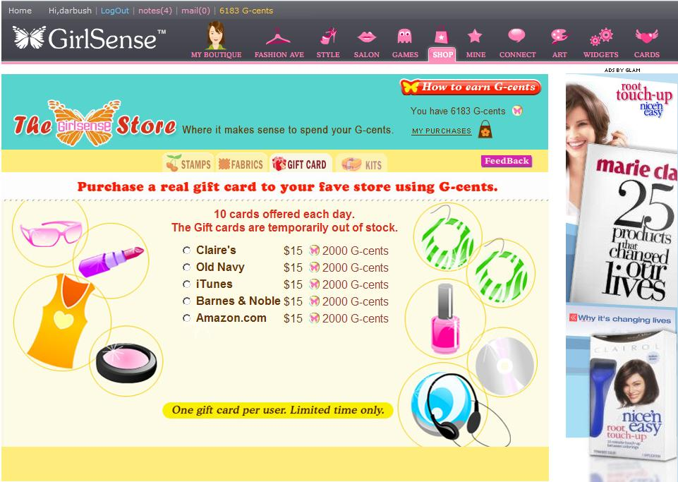 Websites like girlsense