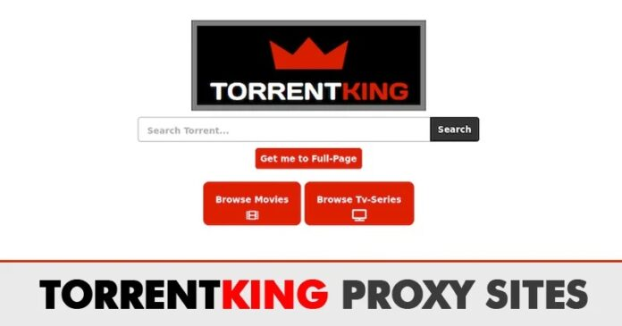 TorrentKing Proxy Unblocked | Top TorrentKing Mirror Sites