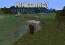 Minecraft grindstone